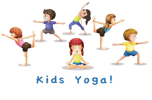 dibujo kids yoga
